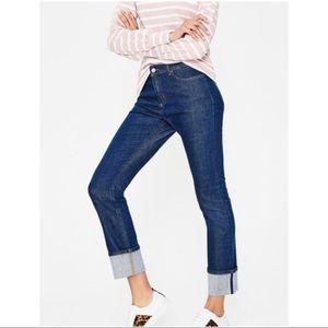 Boden Harrogate Straight Leg Jeans in Indigo Sz 12